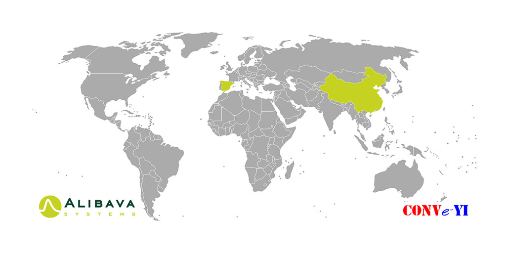 Conveyi, the distributor company of Alibava Systems in China