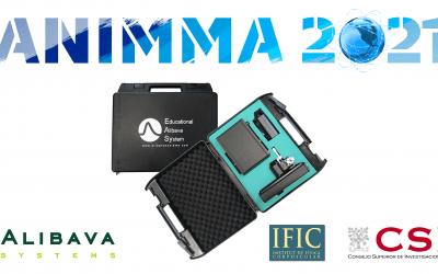 Educational Alibava System EASy at ANIMMA 2021
